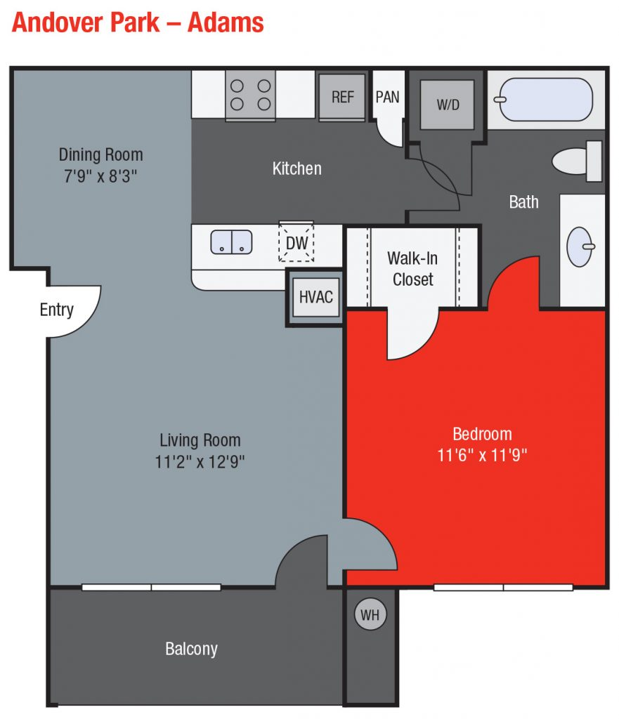 Apartments For Rent TGM Andover Park - Adams
