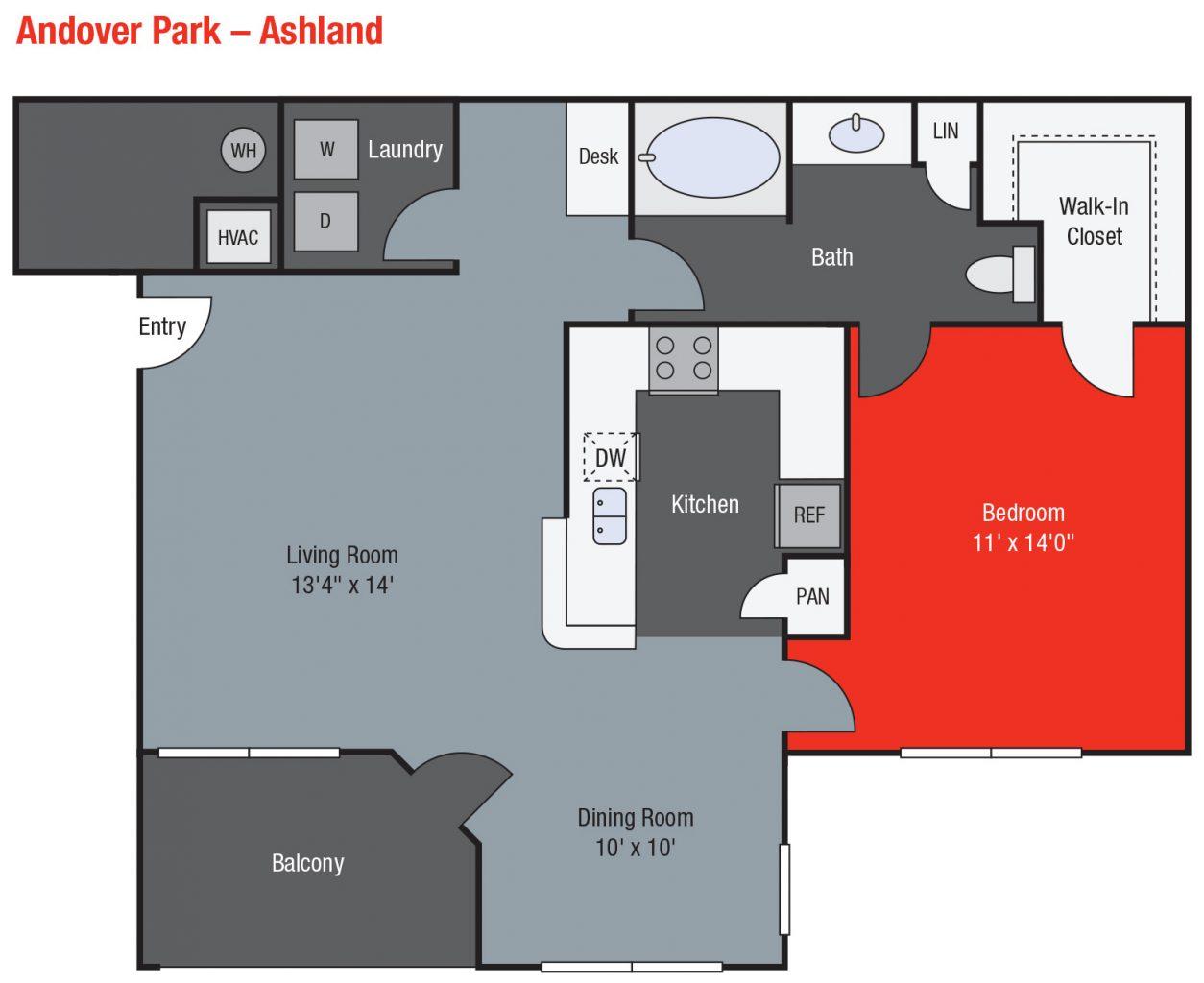 Apartments For Rent TGM Andover Park - Ashland