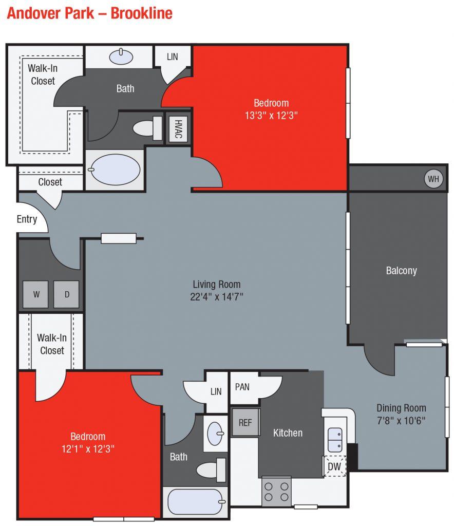 Apartments For Rent TGM Andover Park - Brookline