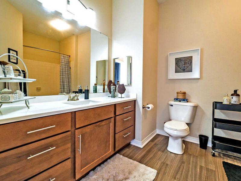 TGM Andover Park Apartments Bathroom 2 front view