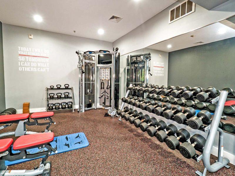 TGM Park Andover Apartments Fitness Gym 2