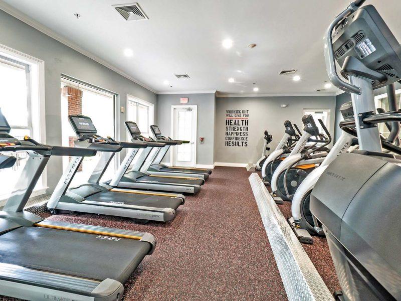 TGM Park Andover Apartments Fitness Gym 4