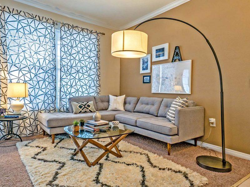 TGM Andover Park Apartments Living Room