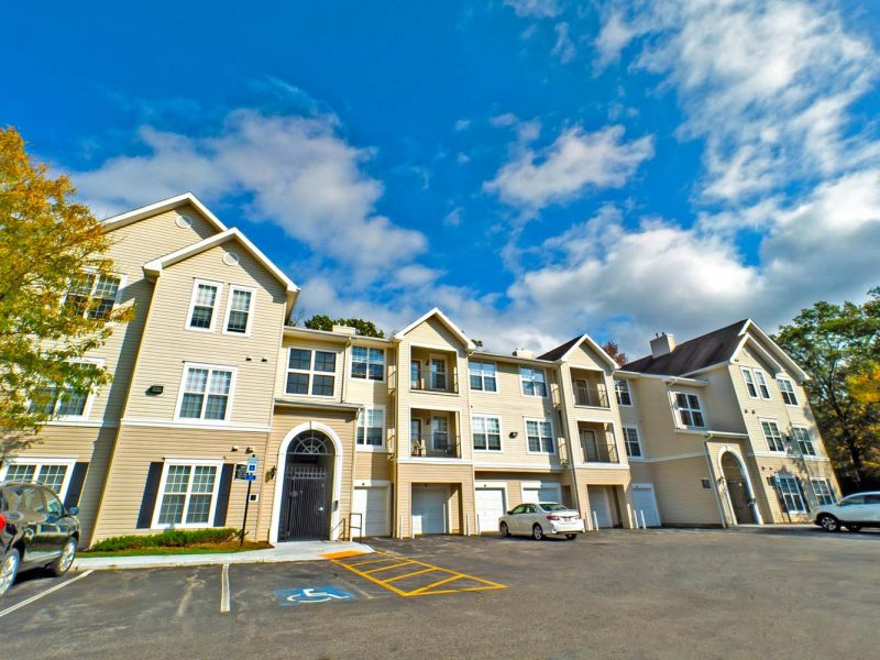 This image shows the outside view of the TGM apartment in South Lawrence, MA.